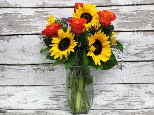 Colorado Sunset Vase Arrangement