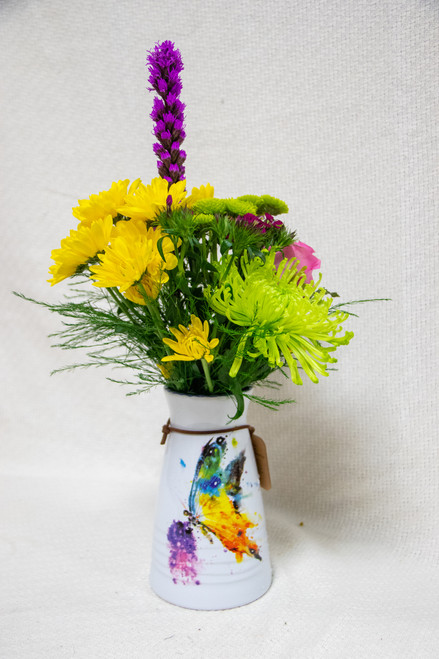 Colors of Spring Vase Arrangement
