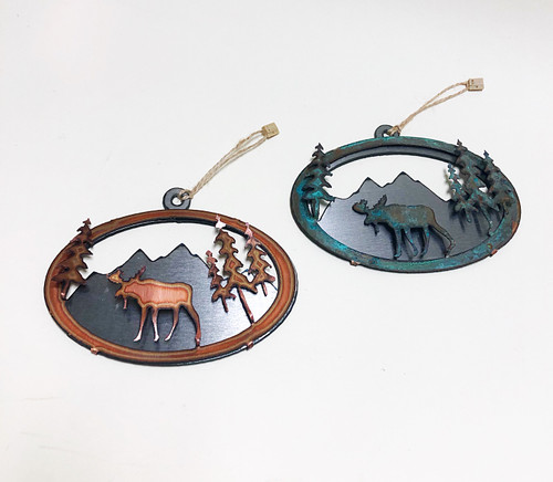 Give your tree the best style this year with our favorite new line of Colorado steel ornament designs! These ornaments are handmade locally in Colorado Springs, Colorado and are truly one-of-a-kind. Send them with an arrangement, centerpiece or another gift to give something a little extra special.