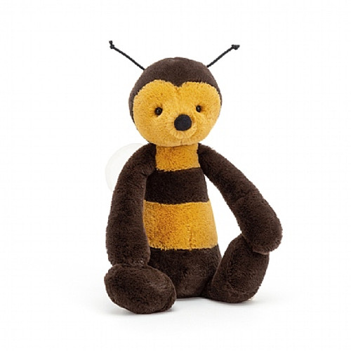 If you like to plant flowers, Bashful Bee has a few requests! He loves lilac, honeysuckle and poppies - perfect for making heavenly honey! This beautiful bug is a real dapper chap.