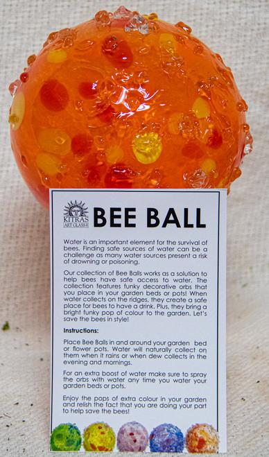 Bee Ball -Kitras Art Glass