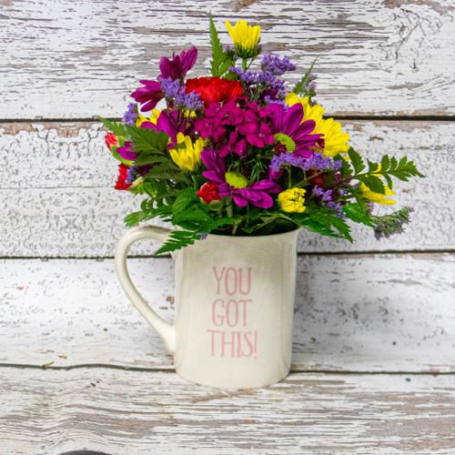 Cup of Courage Mug Arrangement