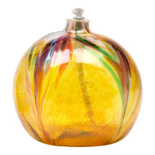 Art Nouveau Oil Lamp