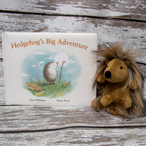 In Hedgehog's Big Adventure, brave little Hazel sneaks out to explore the world beyond her hedge home! A beautiful hardback with sweet illustrations, and a charming tale about being very careful!