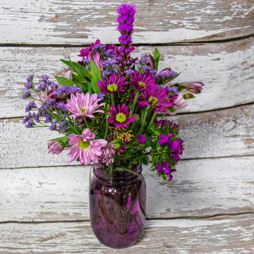 Plum Crazy Vase Arrangement