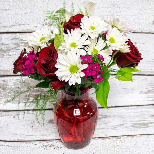 Much Love Vase Arrangement