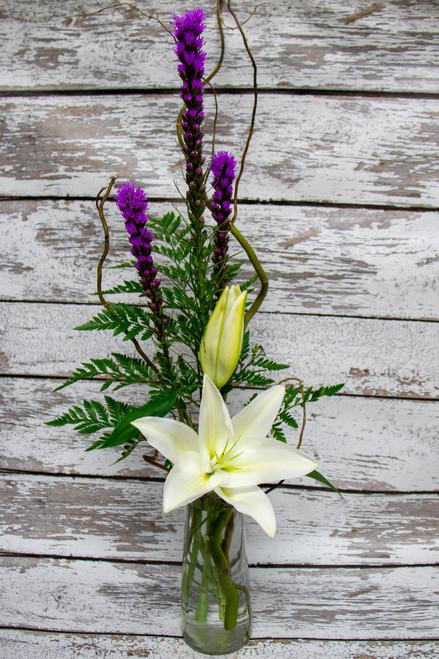 Tall White Lilies Arrangement