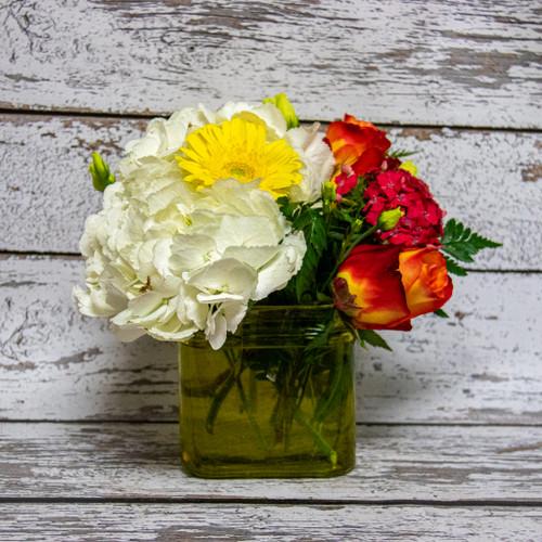 Candy Apple Vase Arrangement