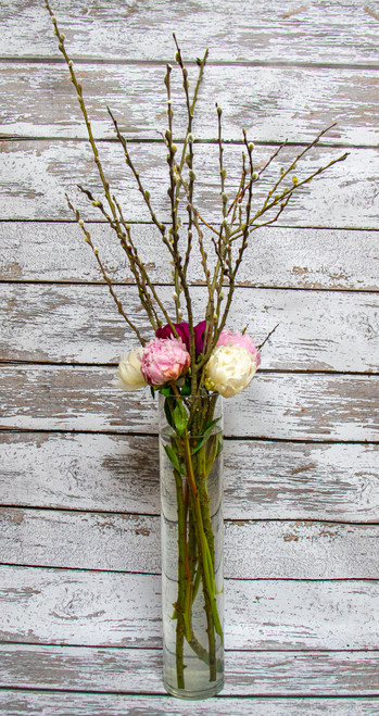 Peonies and Romance Vase Arrangement