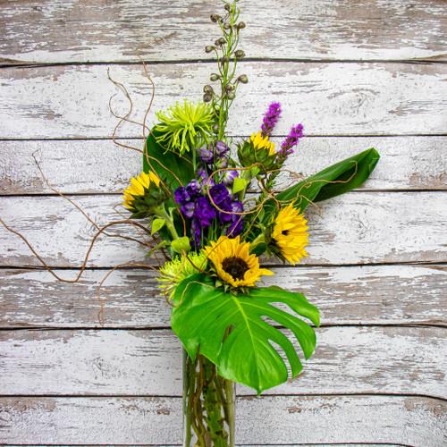 Sunshine in the Tropics Vase Arrangement