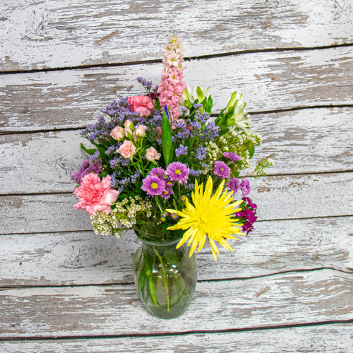 A Day on the Lake Vase Arrangement