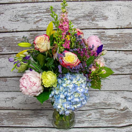 A New Love Vase Arrangement