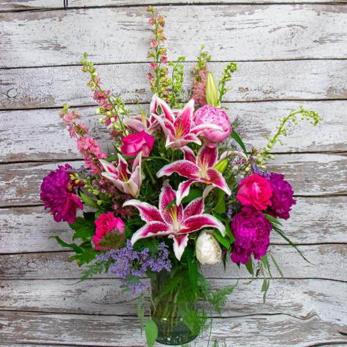 A Life in Pink Vase Arrangement