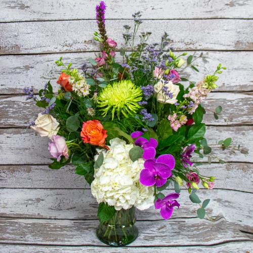 Junes Flowers Vase Arrangement
