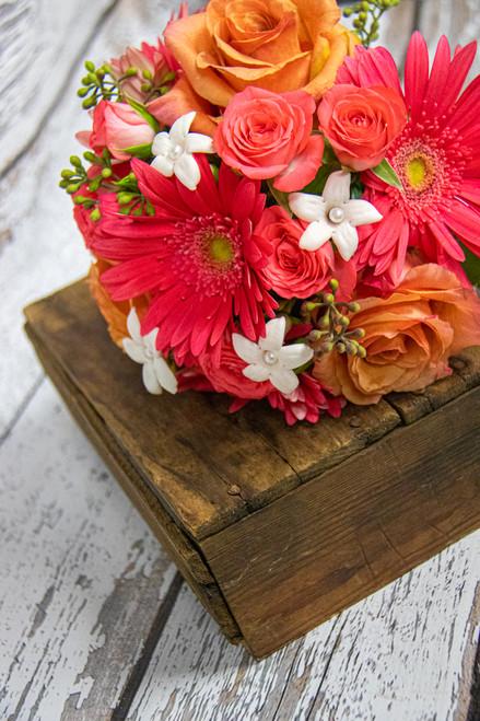 Gazing Cascade Bridesmaid Bouquet