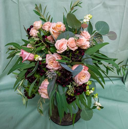 Rasberry Sorbet Bridal Bouquet