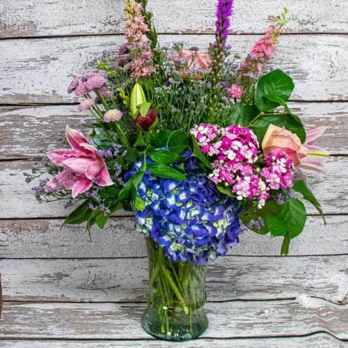 A Sorbet Dream Vase Arrangement