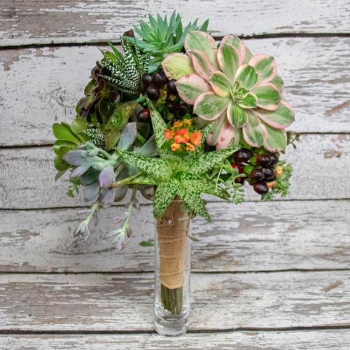 Succulents Galore Bridal Bouquet