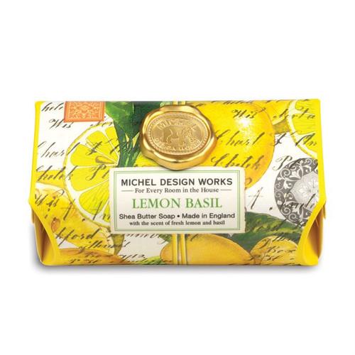 Lemon Basil LG Bar Soap