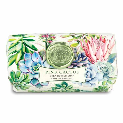 Pink Cactus LG Bar Soap