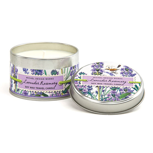 Lavander Rosemary Travel Candle