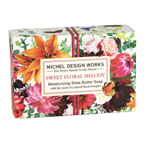 Sweet Floral Melody SM Boxed Soap
