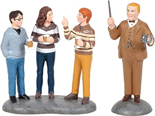 Professor Slughorn and Trio