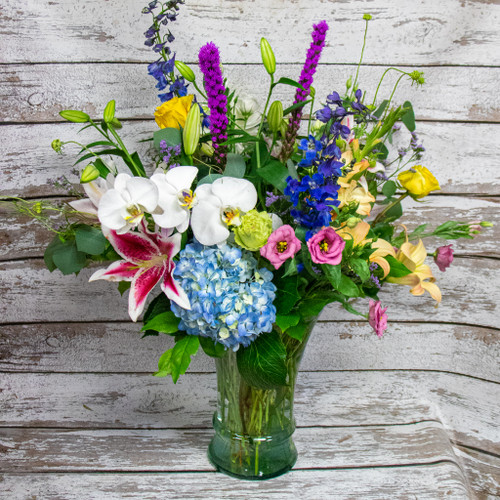 A Touch of Tropical Vase Arrangement