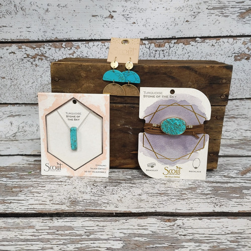 Stone of the Sky Turquoise Jewelry Bundle