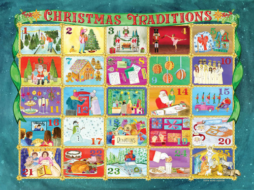 True South Christmas Traditions 500 Piece Puzzle