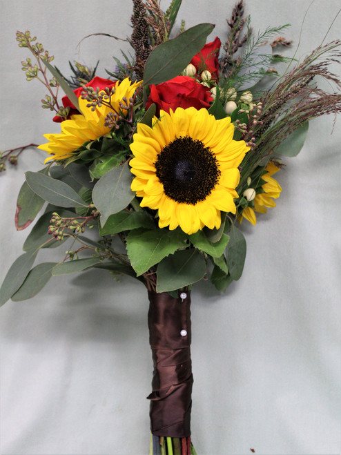 All The Fall Bridesmaid Bouquet