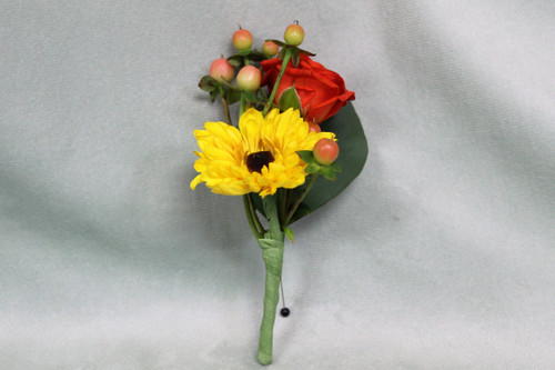 All The Fall Boutonniere