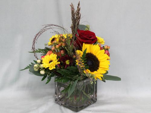 All The Fall Vase Arrangement