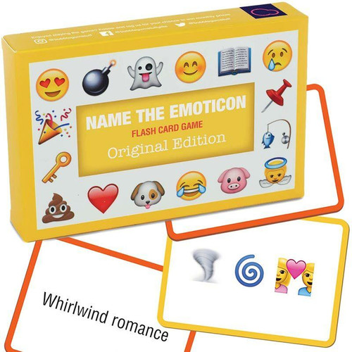 Name The Emoticon Card Game