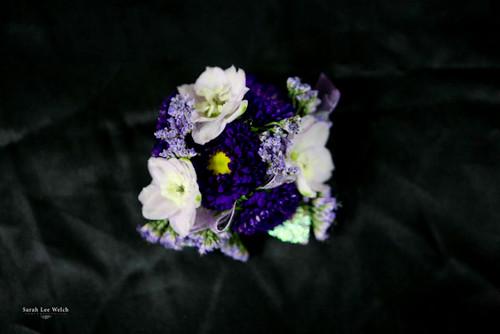 Shades of Purple Corsage