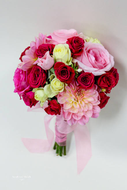 Shades of Pink Bridal Bouquet