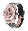 Audemars Piguet 18k Rose Gold 11.5ct Diamond Watch