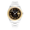 Rolex DateJust II 18k Yellow Gold Bezel Automatic Men's Watch
