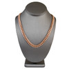 14k Rose Gold 9mm Miami Cuban Link Chain 30in On Model