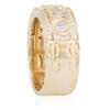 14k Yellow Gold 3.25ct Mens Diamond Ring