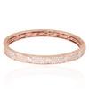 14k Rose Gold 5.51ct Diamond Bracelet