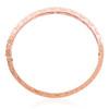 14k Rose Gold 5.51ct Diamond Bracelet From Above