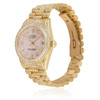 Rolex DateJust 18k Yellow Gold President 11.5ct Diamond Automatic Women's Watch