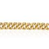 10K Yellow Gold 10.23ct Diamond Cuban Link Bracelet