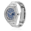 Rolex DateJust II 41mm Stainless Steel 5ct Diamond Automatic
