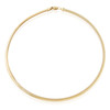 14k Yellow Gold 4mm Omega Chain 16in