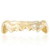 14K Yellow Gold Custom 1.25ct Diamond Top 6 Grill