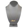 10k Yellow Gold Diamond Name Necklace