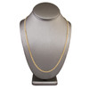 18k Yellow Gold 4.5mm Micro Cuban Link Chain 22in
