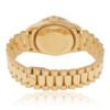 Rolex DateJust 18K Yellow Gold President 1.75ct Diamond Bezel Automatic Women's Watch